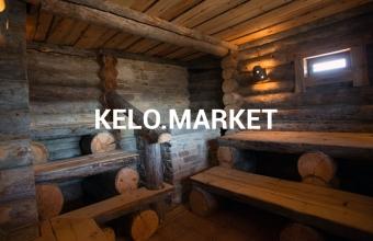 Баня из сосны Кело