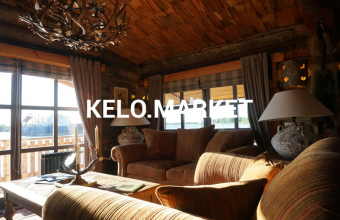 дом из сухостойной сосны Кело